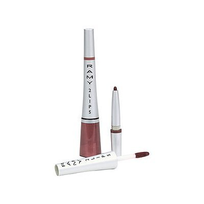 Ramy 2 Lips Liner & Gloss, Not That Into Hue, 1 ea