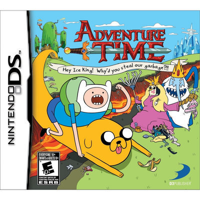 D3p 32037 Adventure Time Hey Ice King Ds