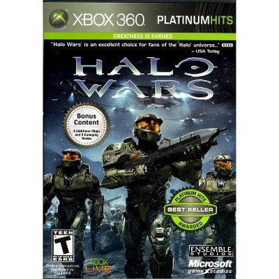 Microsoft Corp. Halo Wars Platinum Edition Xbox 360 Game Microsoft