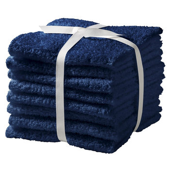 Feroze Textile Room Essentials 8-pk. Washcloth Set - Admiral Blue