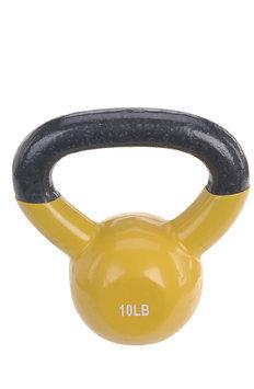 Sunny Health & Fitness Vinyl Coated Kettle Bell-10LB