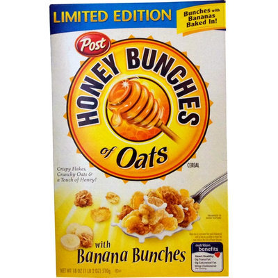 Honey Bunches Of Oats With Banana Bunches Limited Edition