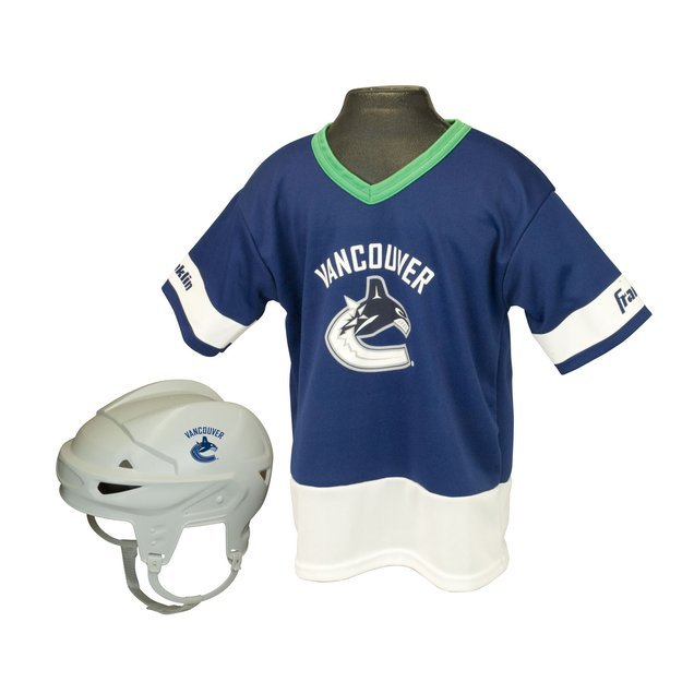 Franklin Sports NHL Vancouver Canucks Kids Team Set