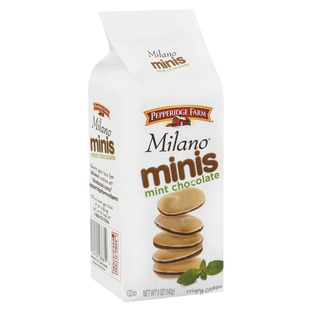Pepperidge Farm® Milano® Minis Mint Chocolate Cookies