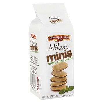 Pepperidge Farm Milano Minis Mint Chocolate Cookies - 5 oz