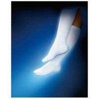 Biersdorf Patient Apparel Sensifoot Support Sock, 8-15mm, Black, Med