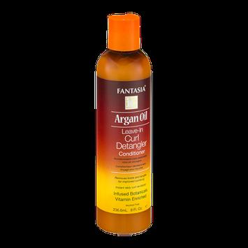 Fantasia Argan Oil Leave-In Curl Detangler Conditioner