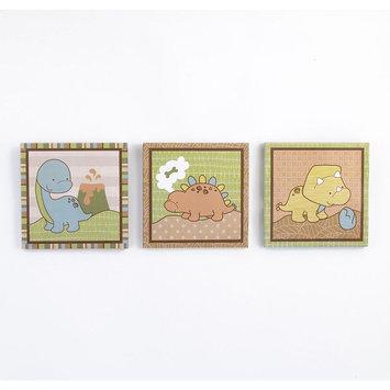 Cocalo Baby Dinomite 3-Pc. Canvas Wall Art Set