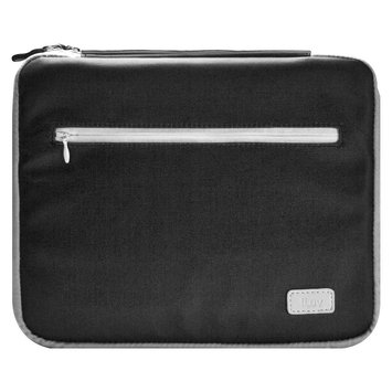 iLuv Roller - Soft Padded sleeve for iPad 3 - Black/Grey iCC835BGRY