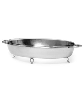 Star Home Georgian Oval Server with 4.2 Qt Baker