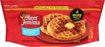 Aunt Jemima Frozen Breakfast Buttermilk Waffles
