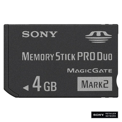 Sony MSMT4G/TQ 4GB Memory Stick PRO Duo