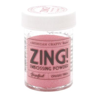 American Crafts Zing! Opaque Embossing Powder 1 Oz-Grapefruit