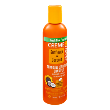Creme of Nature Sunflower & Coconut for Normal Hair Detangling Conditioning Shampoo