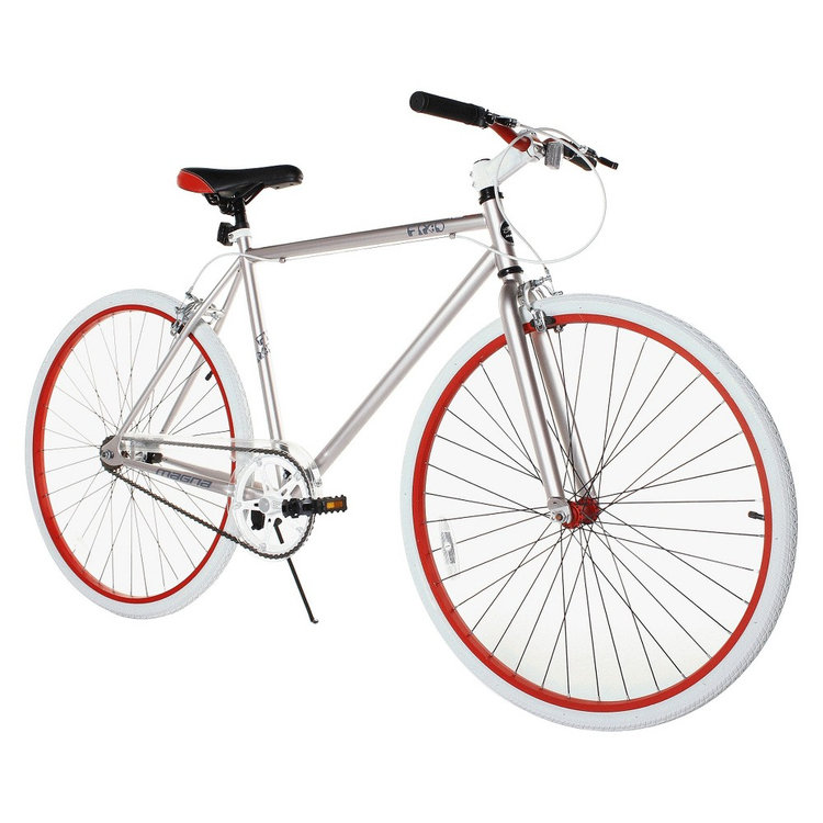 Chitech MAGNA Silver / Red / White Fixie - 28