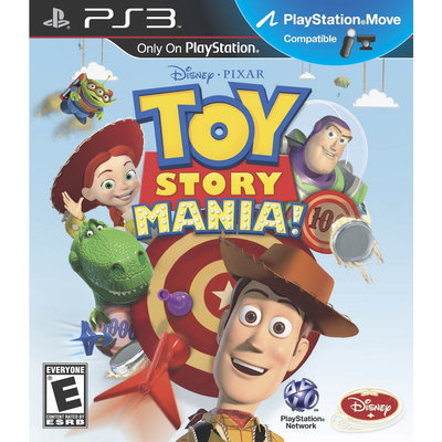 Disney Interactive 10891700 Toy Story Mania Ps3 Move