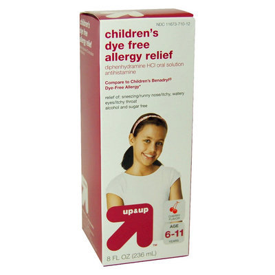 up & up Children's Dye Free Allergy Relief