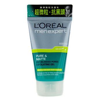 L'Oréal Paris Men Expert Pure & Matte Anti-Blocked Pores Exfoliating Gel