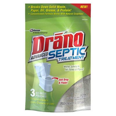 Drano Advanced Septic Treatment 3 ct