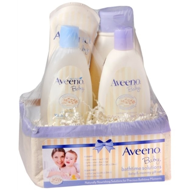 Aveeno Baby Baby Daily Bathtime Solutions Gift Set Giftset