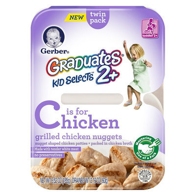 Gerber Graduates Kid Selects 2+ Grilled Chicken Nuggets 7.05 oz