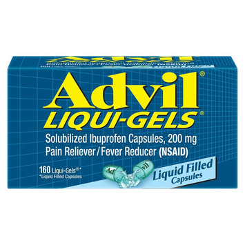 Advil Pain Reliever and Fever Reducer Liqui-Gels - 160 Count