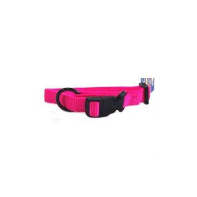 Hamilton Pet Products Adjustable Dog Collar in Hot Pink