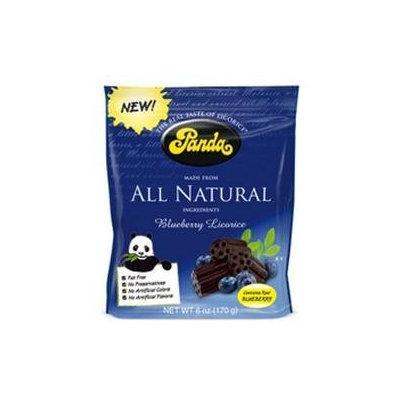 Panda Licorice 92902 Panda Licorice Blueberry Bag- 12x6 Oz