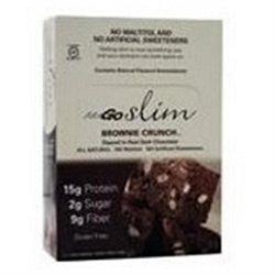 Nugo Nutrition Bar NuGo Nutrition - Slim Bar Brownie Crunch - 1.59 oz.