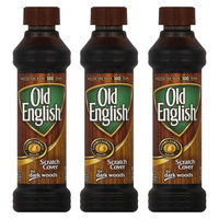 OLD English Dark Scratch Cover (Oil), 8 Ounces, 3 Pack
