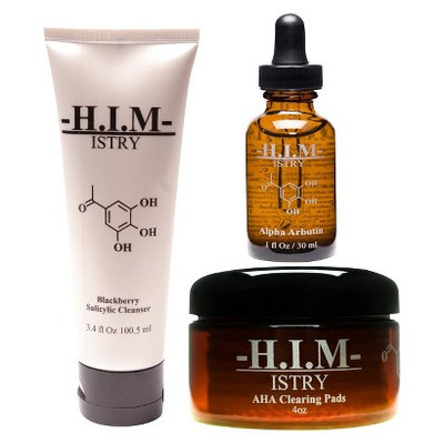 H.i.m Istry H.I.M.Istry Men's Anti Acne Set - 3 Count (For Oily Skin)