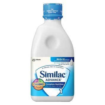 Similac Advance Ready To Feed Infant Formula 32 Fl oz Bottle (6 Pack)