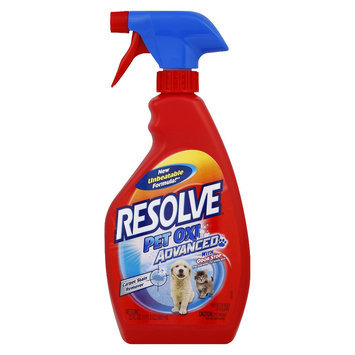 Resolve Pet Stain carpet cleaner, 22 Ounces, 3 Pack
