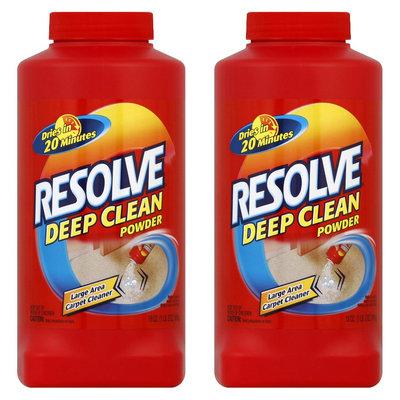 Resolve Deep Clean Powder, 18 Ounces, 2 Pack