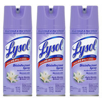 Lysol Disinfectant Spray - Early Morning Breeze, 12.5 Ounces, 3 Pack