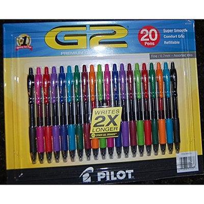 Pilot G2 Premium Gel Roller Pen 20 count