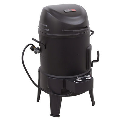 Combination Grill: Char-Broil TRU-Infared 3-in-1 Gas Smoker, Roaster & Grill