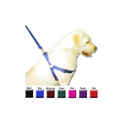 Majesticpet Majestic Pet Adjustable Nylon Step-In Dog Harness - Black Small