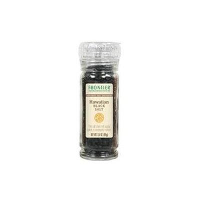 Frontier Natural Products Hawaiian Black Salt Gourmet Salt Grinders - 3.5 oz