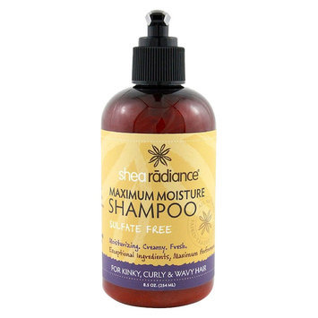 Shea Radiance Maxmum Moisture Shampoo, 8 oz