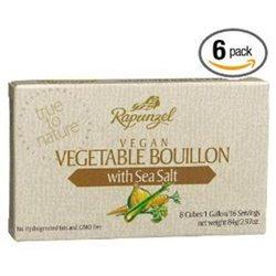 Rapunzel - Vegetable Bouillon Vegan with Sea Salt - 8 cubes