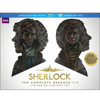 Sherlock: The Complete Seasons One - Three (Limited Edition) (Combo Gift Set) (Blu-ray + DVD)
