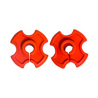 Comfort-tech Comfort-Tech Shaft Dampener-2 pk-Orange