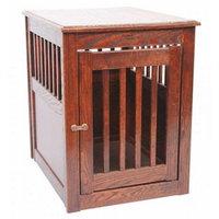 Dynamic Accents End Table Pet Crate - Oak
