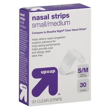 Up & Up UP NASAL 30CT CLEAR S/M STRIPS