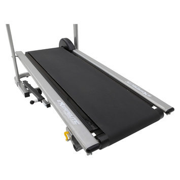 Exerpeutic Manual Treadmill with Extended Safety Handles and Pulse