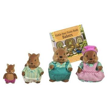 Branford Li'l Woodzeez Squirrel Family