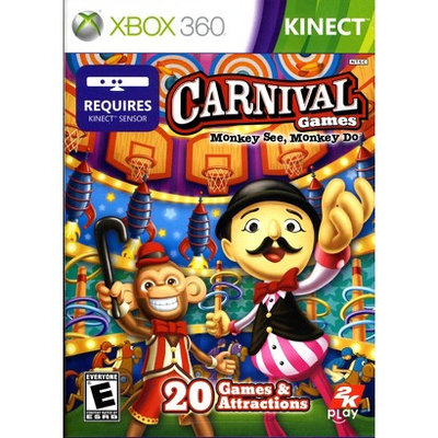 Take-two Interactive Carnival Games: Monkey See, Monkey Do PRE-OWNED (Xbox 360)