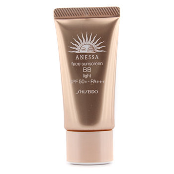 Shiseido Anessa Face Sunscreen BB Light SPF 50+ PA+++ 30g/1oz