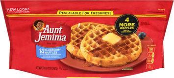 Aunt Jemima Frozen Breakfast Blueberry Waffles